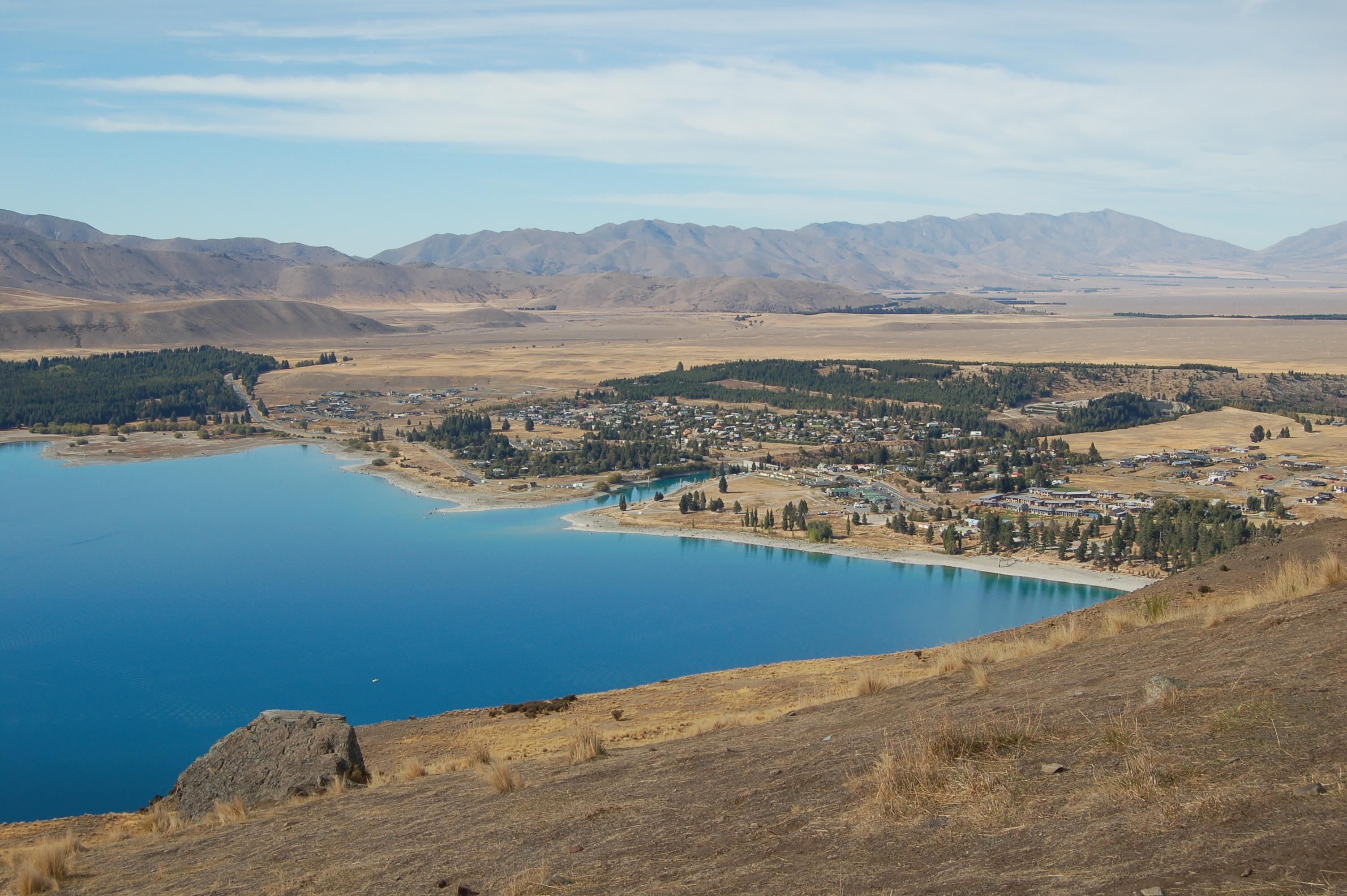 View of Lake Tekapo - New Zealand - Itinerary Planner
