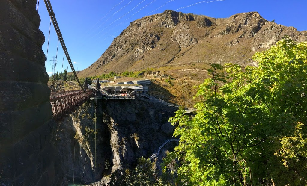 A J Hackett Bungee, Gibbston, Nr Queenstown, New Zealand