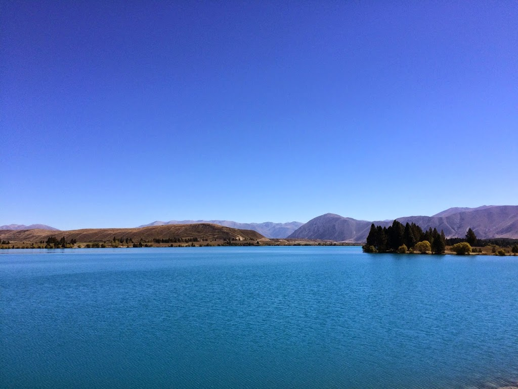 Lake Ruataniwha, Twizel, New Zealand