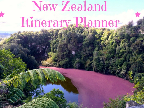 Awesome 3 Week New Zealand Itinerary Planner